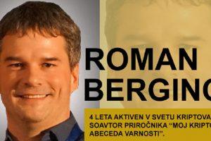 Roman Berginc 300x200 - Štiri kriptodelavnice Romana Berginca