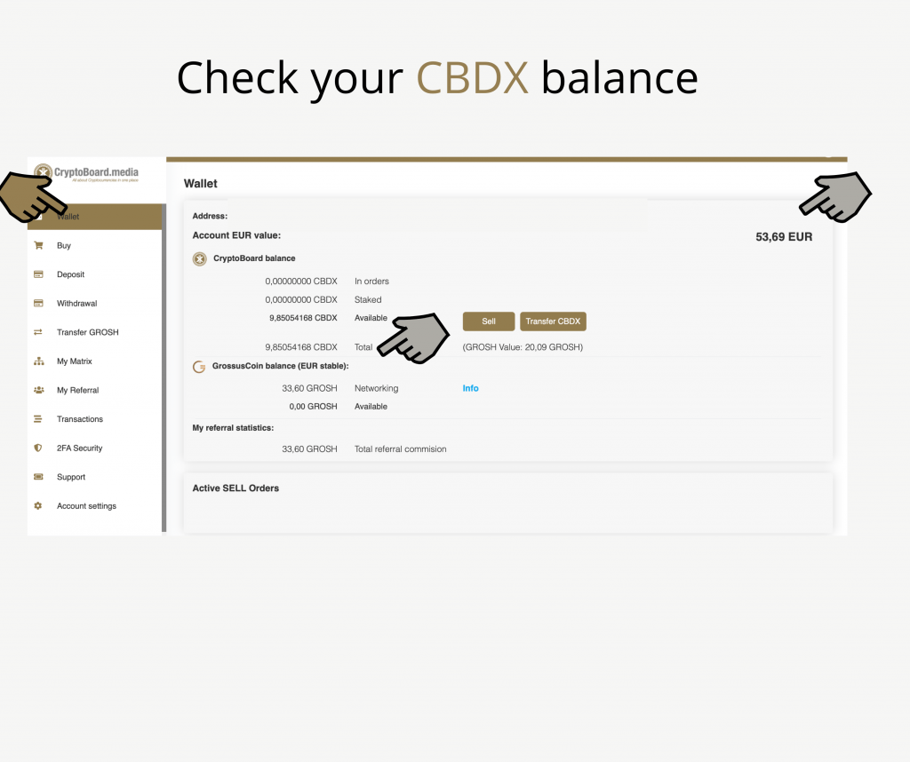 CryptoBoard Wallet 2